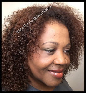 Authentic Kinky Curly Wig Lace Front 13 x 6 - Healthy Hair Clinic