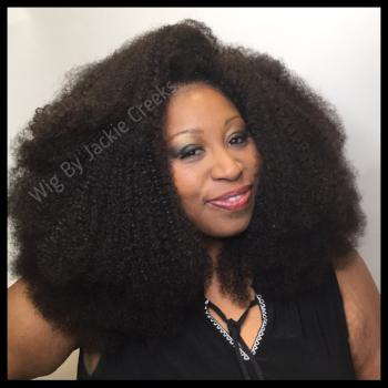 Authentic Kinky Curly Wig Lace Front Wig - Healthy Hair Clinic