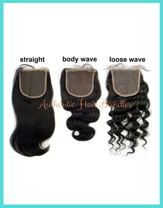 Authentic Premium Remy Hair Closures - Healthy Hair Clinic