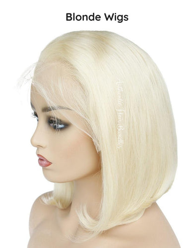 Custom Blonde Bob Wigs - Healthy Hair Clinic