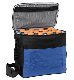 24-Can Cube Cooler With Zipper Pockets-Bag-