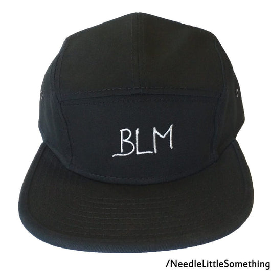 BLM Black Lives Matter Embroidered Camper Hat/Cap-Already Embroidered-