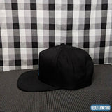 California State Outline Embroidered Black Hat-Already Embroidered-