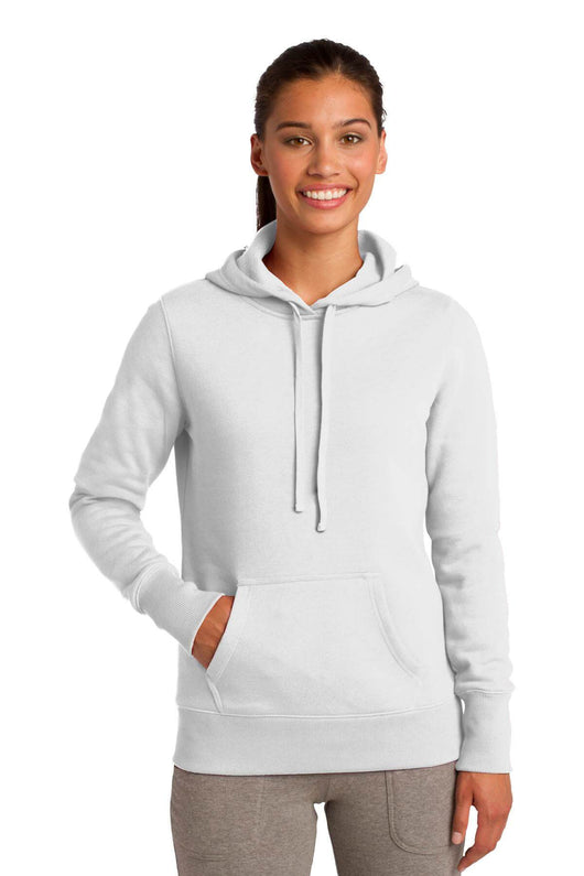 Classic Ladies Pullover Hooded Sweatshirt With Front Pocket-Sweatshirt-X-Small