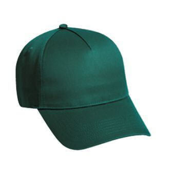 Cotton Structured 5 Panel Hat-Hats-