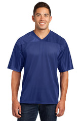 Crossover Rib Knit V-Neck Replica Jerseys-Shirts-X-Small