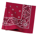 Custom Cotton Poly Blended Bandana-Custom-