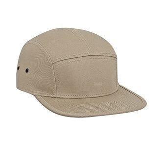 Custom Cotton Structured 5 Panel Camper Style Hat-Custom-