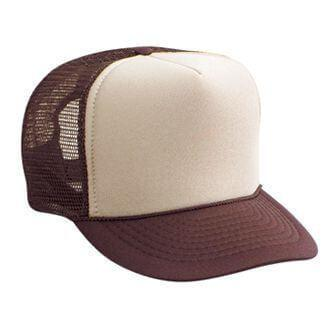Custom Foam Front Trucker Style Mesh Back Hat-Custom-