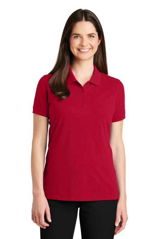 Custom Ladies EZCotton Polo Shirts-Custom-X-Small