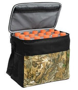 Custom Realtree Camouflage 24-Can Cube Cooler With Strap-Custom-