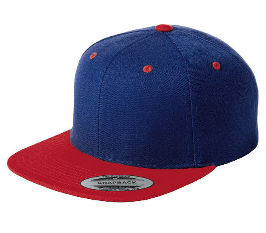 Custom Snapback Flat Bill Hat-Custom-
