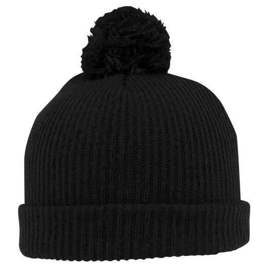 Custom Soft Acrylic Knit Pom Beanie-Custom-