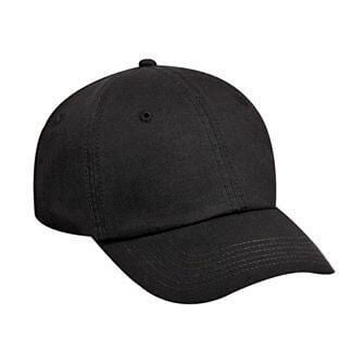 Custom Washed Cotton 6-Panel Dad Hat-Custom-