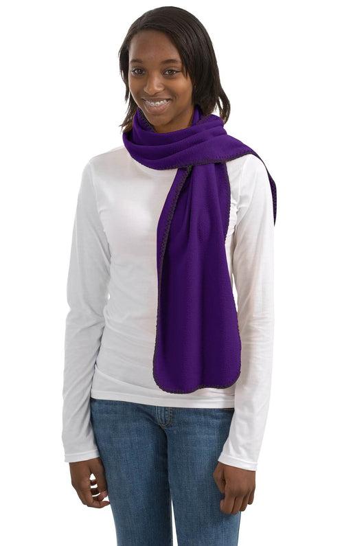 Fleece Scarf With