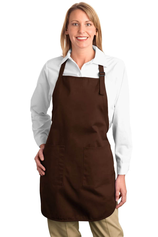 Full Length Apron With Adjustable Neck Strap-Apron-