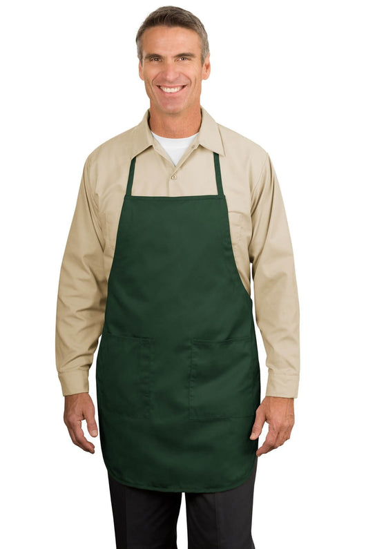 Full Length Apron With Pen Pocket-Apron-