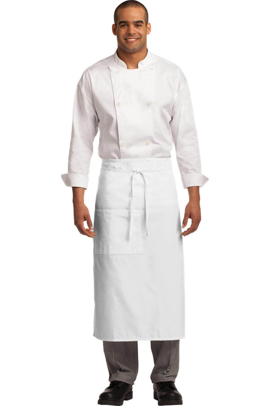 Full Length Easy Care Stain Release Bistro Apron-Apron-