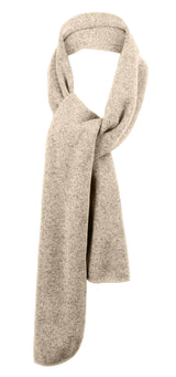 Heathered Knit Scarf-Scarves-