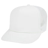 High Crown Youth Foam Front Trucker Hat-Youth-