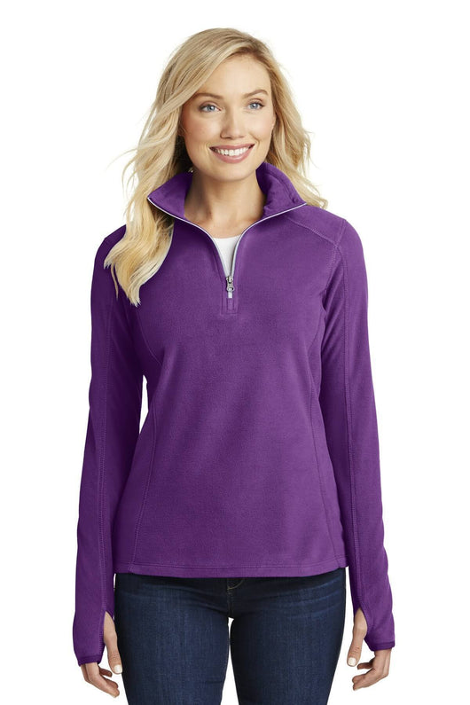Ladies Polyester Microfleece Jacket-Jacket-X-Small