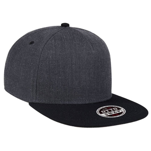 Two Tone Heather 5-Panel Hat-Hats-