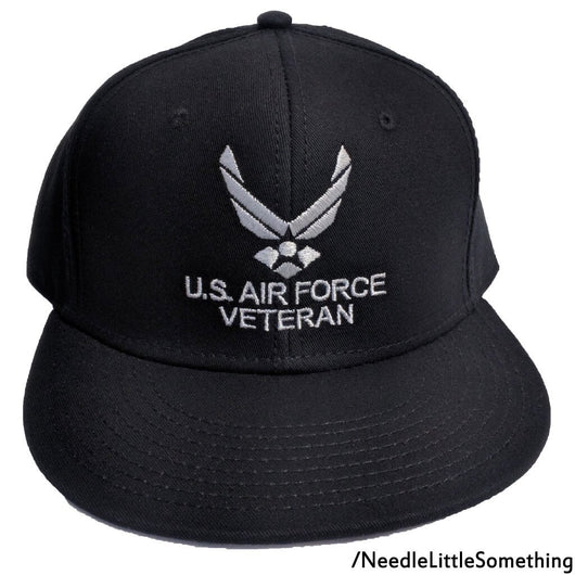 U.S Air Force Veterans Embroidered Hat-Already Embroidered-