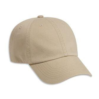8e0eae2a251 Washed Cotton 6-Panel Dad Hat With Bronze Buckle – Needle Little ...
