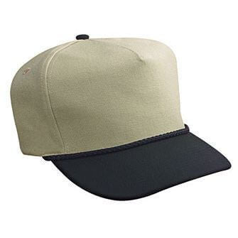 Wool Blend 5-Panel Low Crown Hat-Hats-