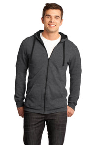 Young Mens Full-Zip Hoodie-Sweatshirt-X-Small