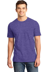 Young Mens Quality Every-Occasion T-Shirt-Shirts-Heathered Purple