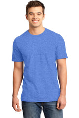 Young Mens Quality Every-Occasion T-Shirt-Shirts-Heathered Royal