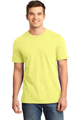 Young Mens Quality Every-Occasion T-Shirt-Shirts-Lemon Yellow