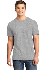 Young Mens Quality Every-Occasion T-Shirt-Shirts-Heathered Grey