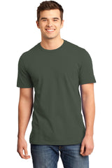 Young Mens Quality Every-Occasion T-Shirt-Shirts-Olive