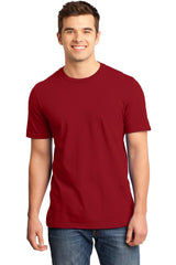 Young Mens Quality Every-Occasion T-Shirt-Shirts-Classic Red
