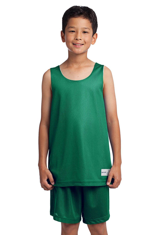 Youth Classic Mesh Reversible Tank Top-Youth-X-Small