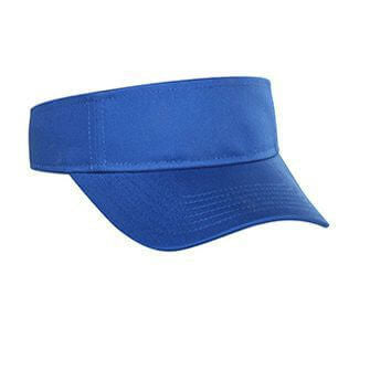 Youth Cotton Twill Sun Visor-Youth-