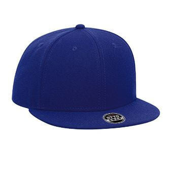 Youth Wool Blend Flat Bill 6-Panel Hat-Youth-