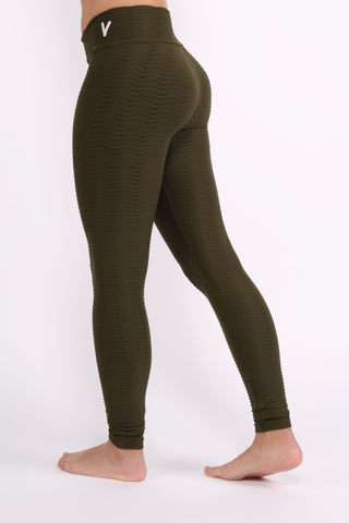 Olive Scale Leggings