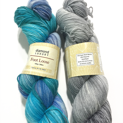 Diamond Luxury Foot Loose Sock yarn