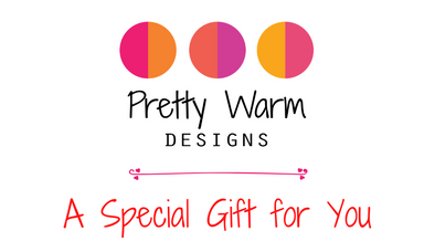 Gift Card for online shopping from Pretty Warm Designs