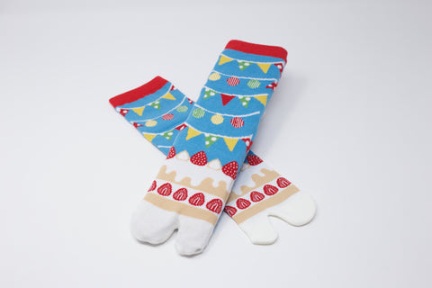 Cake Tabi Socks Ladies