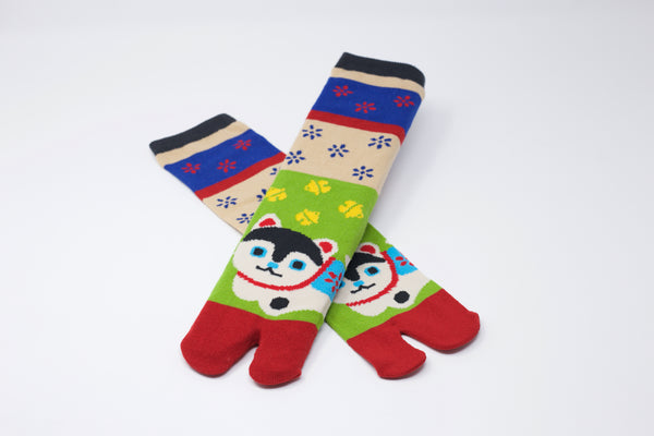 Dog Hariko Tabi Socks Ladies