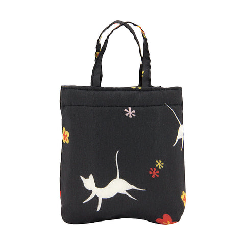 Eco Bag - White Cat