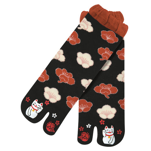 Maneki Neko Tabi Socks Ladies