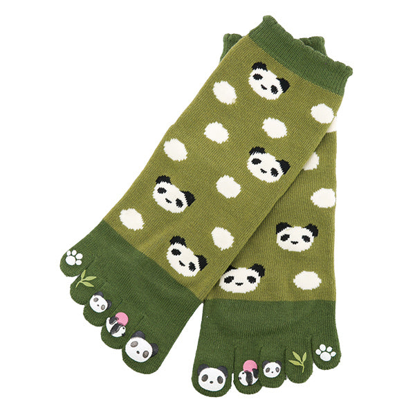 5-Toe Tabi Socks Ladies - Panda