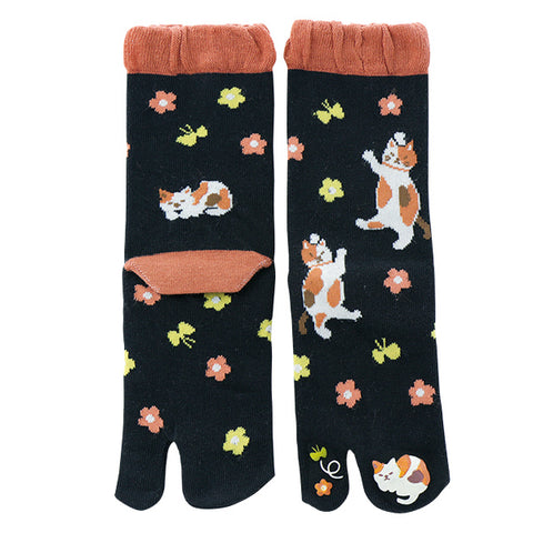 Calico Cat Tabi Socks Ladies
