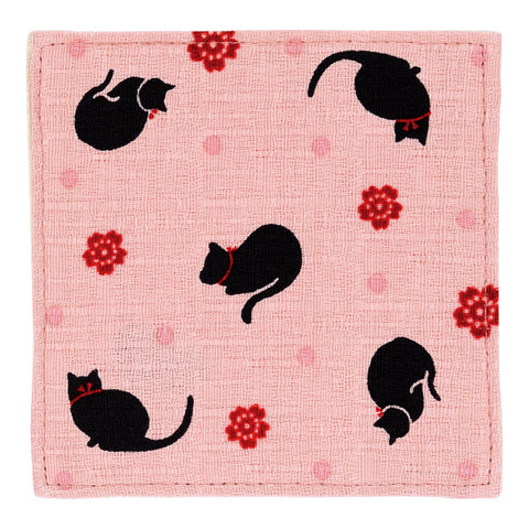 Coaster - Black Cat Pink