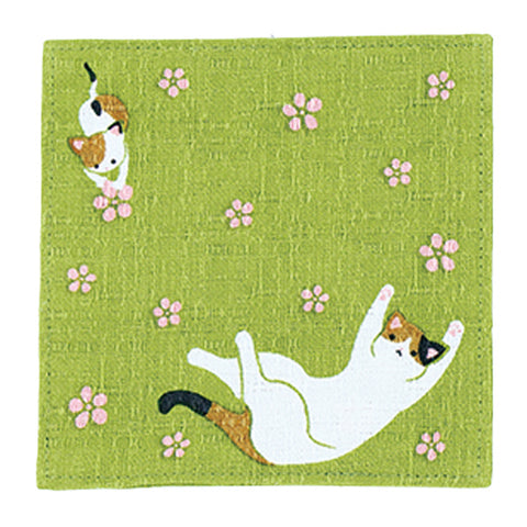 Coaster - Calico Cat Green